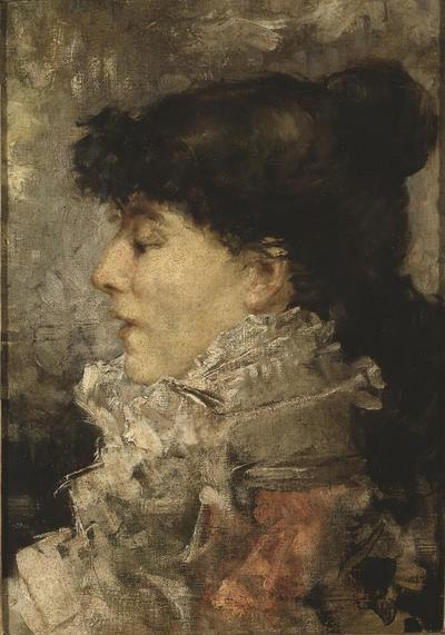 Image from object titled Sarah Bernhardt (1844-1923)