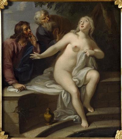 Image from object titled Susannah in the Bath