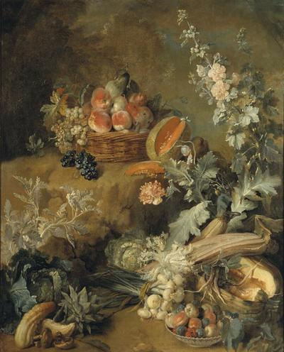 "Still Life of Fruits and Vegetables (""Earth"")"
