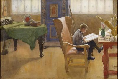 Image from object titled Esbjörn at the Study Corner