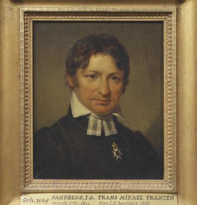Frans Mikael Franzén, 1772-1847, Bishop, Poet