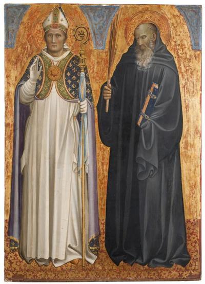 St Benedict and Bishop Donatus