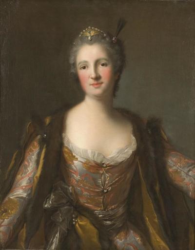 Marquise de Broglie (1718-1777) as Sultana