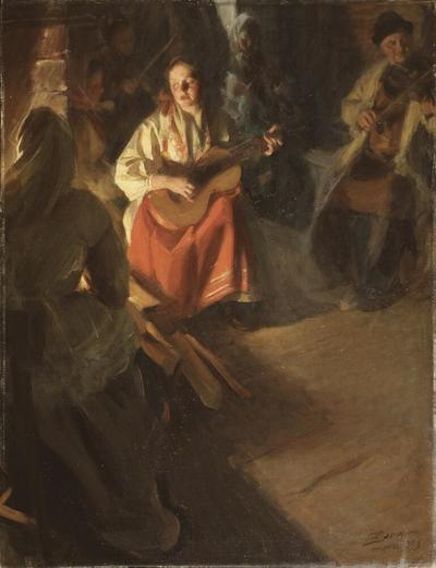 Image from object titled A Musical Family
