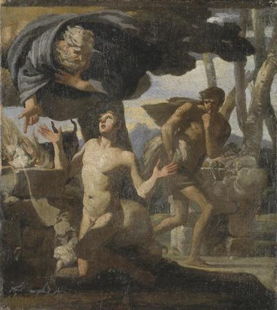 Image from object titled The Sacrifice of Abel. Study