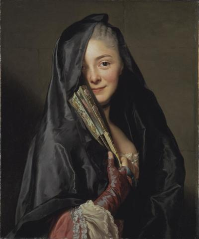 Image from object titled The Lady with the Veil (the Artist's Wife)