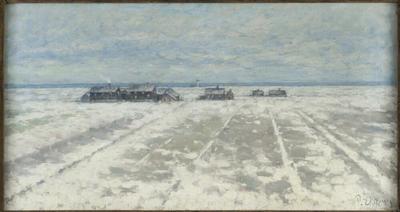 Winter Landscape. Öland Scene