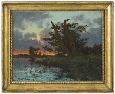 Landscape after Sunset