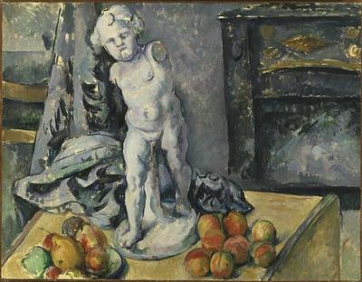 Still Life with Statuette