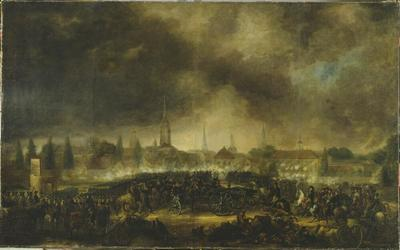 Image from object titled The Storming of Leipzig