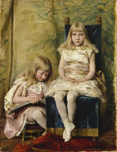 Hildegard and Alfhild Tamm  Children