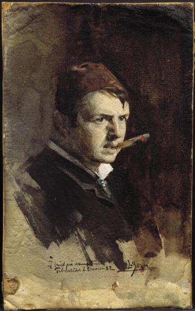 Image from object titled Selfportrait