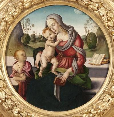 Madonna and Child and the Infant St John
