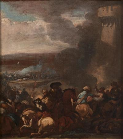 Image from object titled Battle Scene