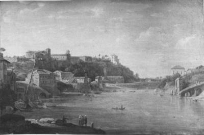Image from object titled View of the Monte Aventino in Rome