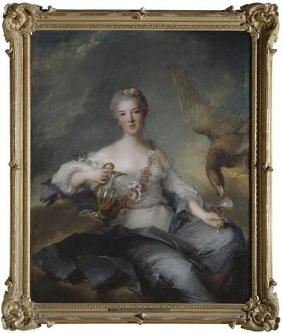 Duchesse de Chartres (1726-1759) as Hebe