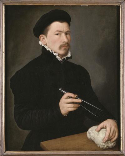 Image from object titled Portrait of a Sculptor, possibly Johan Gregor van der Schardt