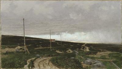 On the coast. Motif from Jaeren, Norway