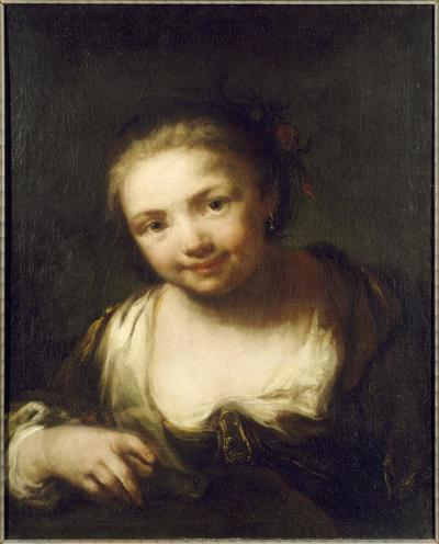 Image from object titled Young Girl