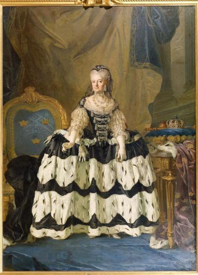 Image from object titled The Dowager Queen Lovisa Ulrika of Sweden