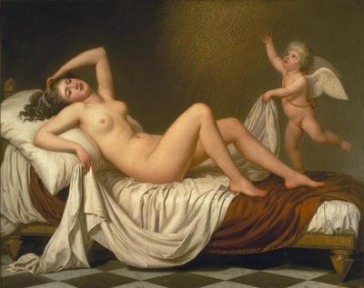 Danaë and the Shower of Gold | Adolf Ulrik Wertmüller