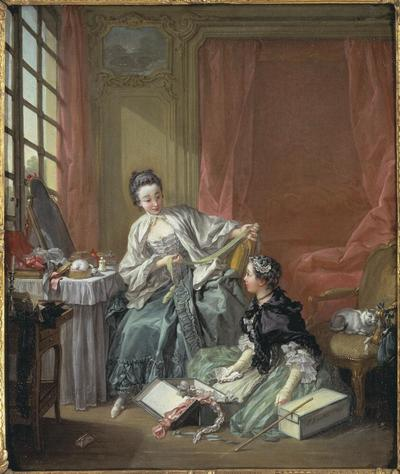 Image from object titled The Milliner