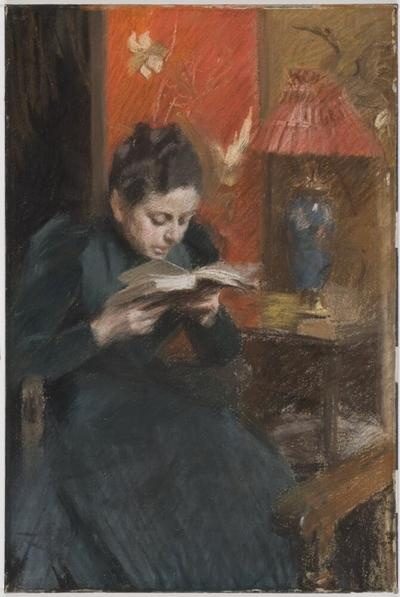 Image from object titled The Artist's Wife