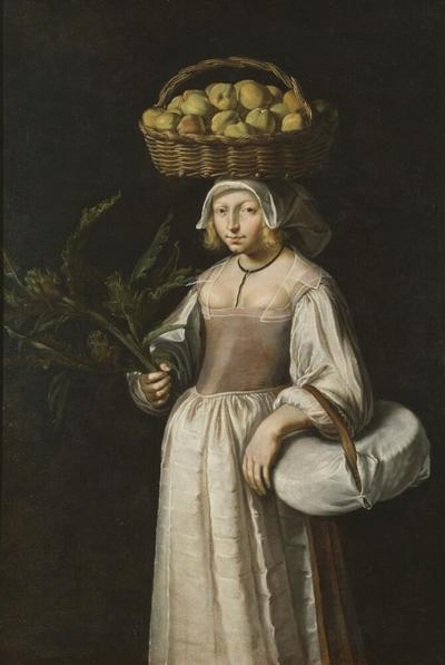 Image from object titled The Vegetable Seller