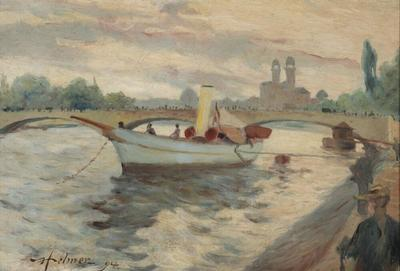 Image from object titled Motif from the Seine