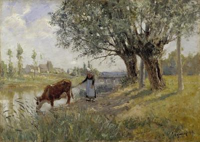 Image from object titled Countryside near Grez-sur-Loing
