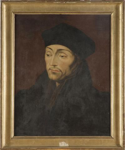 Image from object titled Erasmus Desiderius Rotterdamus, ca 1467-1536