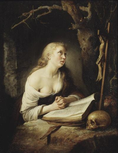 Image from object titled The Penitent Magdalen