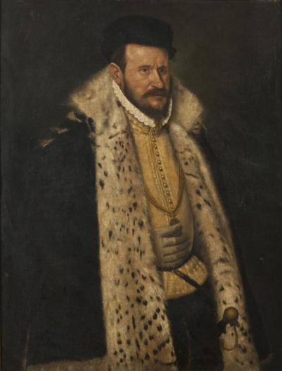 Portrait of a Man in a Furlined Coat