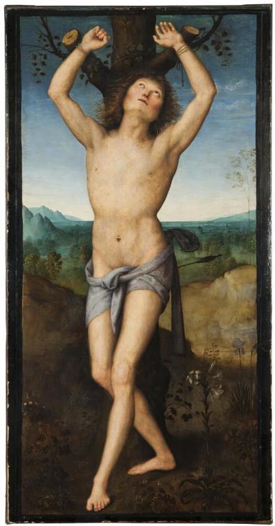 Image from object titled St Sebastian