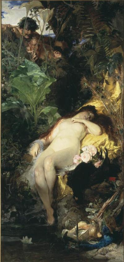 Image from object titled Nymph and Fauns