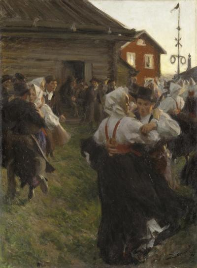 Image from object titled Midsummer Dance