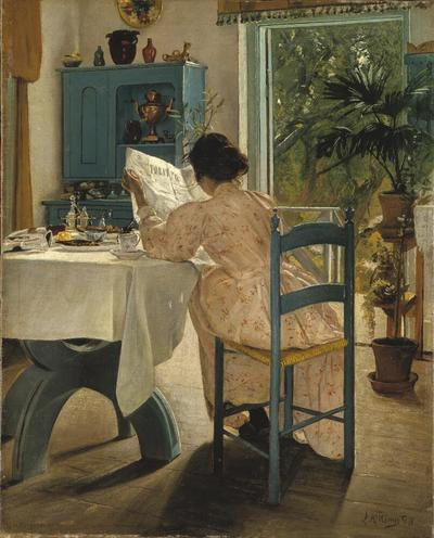 At Breakfast | Laurits Andersen Ring