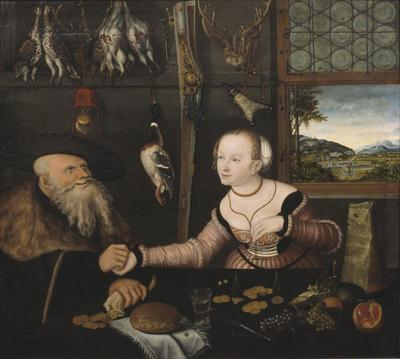 Image from object titled The Ill-matched Couple