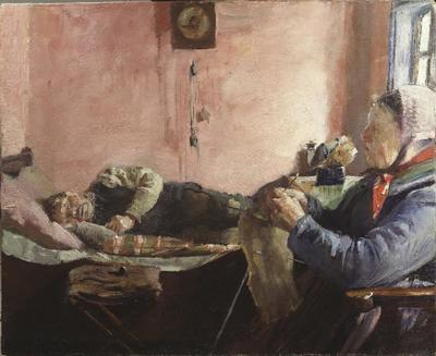 Interior of a Fisherman's Cottage at Skagen