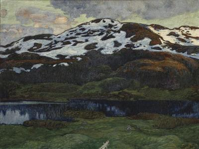 Image from object titled A Summer Evening by Kallsjön