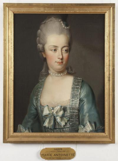 Image from object titled Marie Antoinette, 1755-1793, ärkehertiginna av Österrike, drottning av Frankrike