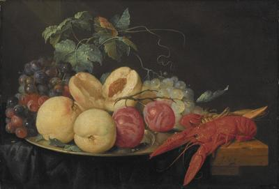 Still Life with Fruit and Boiled Crayfish