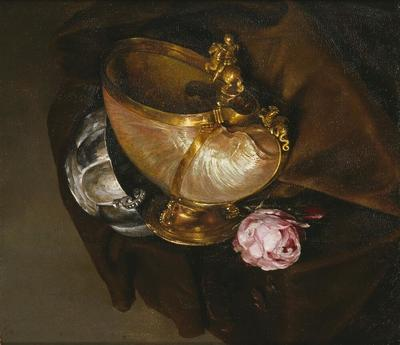 Image from object titled Still Life with a Nautilus Goblet