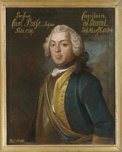 Karl Arvidsson Posse, 1719-91