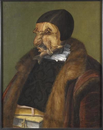 Image from object titled The Lawyer, possibly Ulrich Zasius, 1461-1536, humanist, jurist