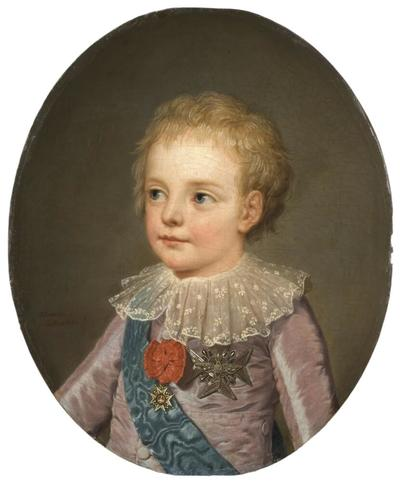 Image from object titled Crownprince, Le Dauphin, Louis-Joseph-Xavier-François of France (1781-1789)