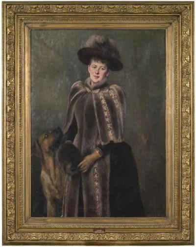 Beate Rosencrantz (1855-1925), g.m. Patrick Baron Seton