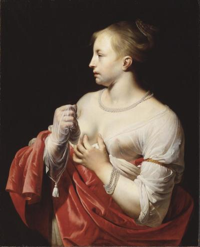 Image from object titled Female Figure, possibly Lucretia