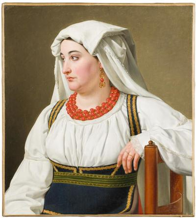 'Una Ciociara' – Portrait of a Roman Country Girl
