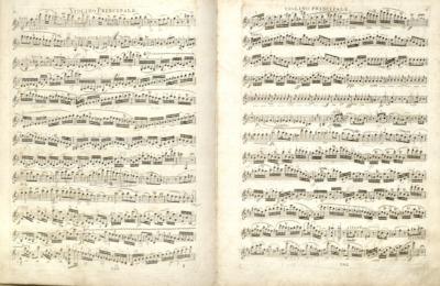 Image from object titled Second concert pour le violon avec accompagnement d'orchestre